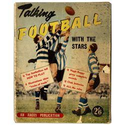 1954 Australian Talking Football w the Stars Magazine