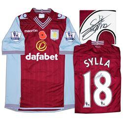 Aston Villa Jersey Worn & Signed By Yacouba Sylla COA