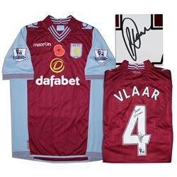 Aston Villa Jersey Worn & Signed By Ron Vlaar COA