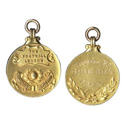 1947 Football League Division Championship Gold Medal