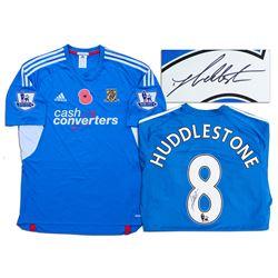 Tom Huddlestone Match Worn Hull City Football Shirt COA