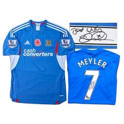 David Meyler Match Worn Hull City Football Shirt COA