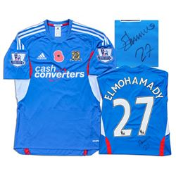 Ahmed Elmohamady Hull City Football Shirt Match Worn