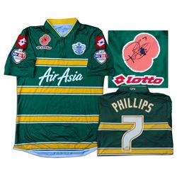 Matt Phillips Match Worn Queens Park Rangers Shirt COA
