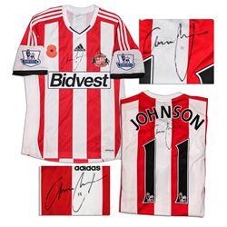 Adam Johnson Match Worn Sunderland Shirt Signed COA