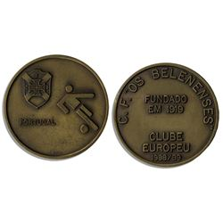 UEFA Cup Football Medal -- Given to ''OS Belenenses''