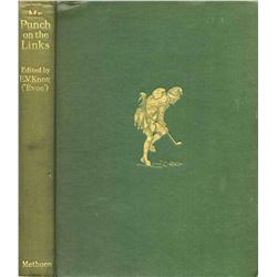 Mr. Punch On The Links By E.V. Knox 1929 1st Edition