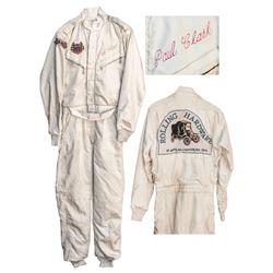 Paul Clark Race-Worn Fire Suit
