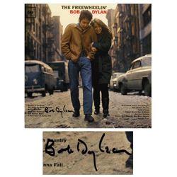 Bob Dylan Signed Album ''The Freewheelin' Epperson COA