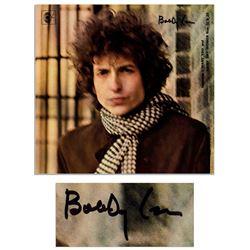 Bob Dylan Signed Album ''Blonde on Blonde'' Epperson COA
