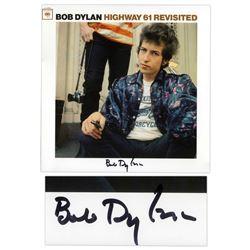 Bob Dylan Signed Album Highway 61 Revisited Rosen COA