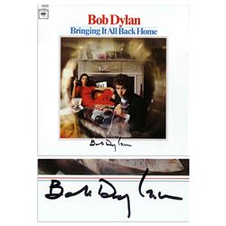 Bob Dylan Signed Album Bringing It All Home Epperson CO