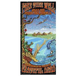 Grateful Dead ''Fare Thee Well'' Poster From Final Shows