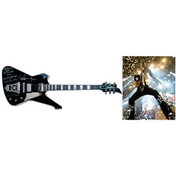 KISS Paul Stanley Signed Guitar Stage-Played w His COA