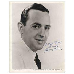 Jimmy Dorsey 8'' x 10'' Signed Photo Jazz Music