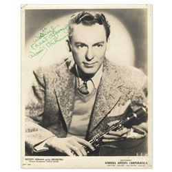 Woody Herman Signed 8'' x 10'' Photo