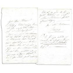 Jenny Lind Swedish Nightingale Autograph Letter Signed
