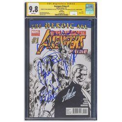 Avengers Prime Cast Signed Comic #1 CGC 9.8