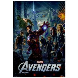 'The Avengers'' cast-signed poster w/ Stan Lee, w/COA's