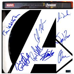 Cast Signed ''The Art of the Avengers'' Coffee Table Book