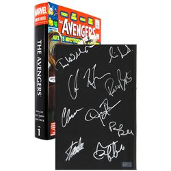 Avengers Creator Stan Lee Signed Omnibus Book CA COA