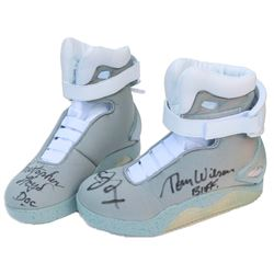 'Back to the Future II'' Cast Signed ''Air McFly'' Shoes w/COA's