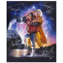 'Back to the Future'' Cast-Signed Photo w/COA's