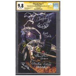 ''Back to the Future'' Cast-Signed Comic #1, Graded 9.8