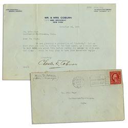 Charles D. Coburn Typed Letter Signed