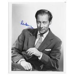 Rex Harrison 8x10 Signed Photo/ Mike Wehrmann COA