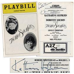Katharine Hepburn ''West Side Waltz'' Program Signed