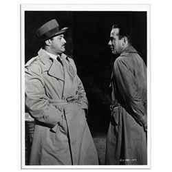 Humphrey Bogart & Lee J. Cobb Columbia Pictures Photo