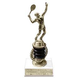 Tennis Trophy Awarded to Actor Lloyd Bridges