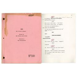 Series Premiere First Draft Script of ''Stanford & Son''