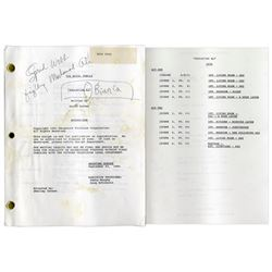 Royal Family Owned & Annotated by Redd Foxx Script