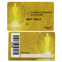 Annette Funicello 2013 Academy Award Membership Card
