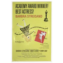 Academy Awards Poster for 1968 Film ''Funny Girl''