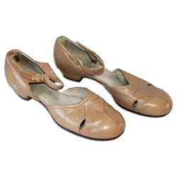 From the Estate of Greta Garbo, Her Shoes, Size 9