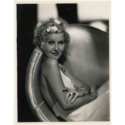 1933 Lillian Harvey Vintage Photo Stamped by Fox