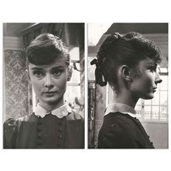 Audrey Hepburn Personally Owned 2 Pics from Estate