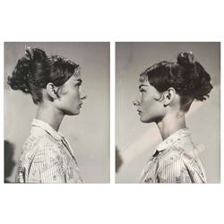 Audrey Hepburn Personally Owned Two Photos from Estate