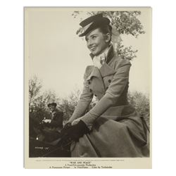 Audrey Hepburn War and Peace Personally Owned Photo