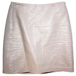 Kylie Jenner Owned Beige Skirt from Her 2015 Auction