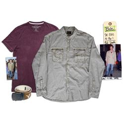 Josh Kelly Screen-Worn Shirts & Belt From ''Circle of 8''