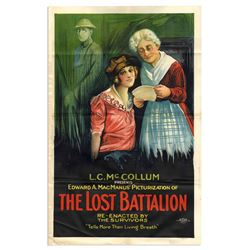 Lost Battalion 1919 Original One Sheet Movie Poster
