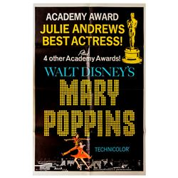 Academy Awards Poster for 1964 Film ''Mary Poppins''
