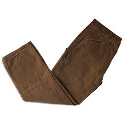 Production-Used Pants From Arnold Schwarzenegger COA