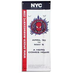 2012 ''Spider-Man'' Banner for New York City