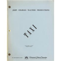 ''Taxi'' Script From 1979 for Episode ''Jim Gets a Pet''