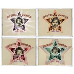 Shirley Temple 4 ''Box-Office Champion No. 1'' Awards
